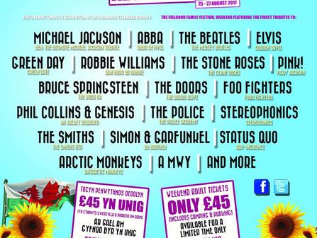 Aberystwyth big tribute festival