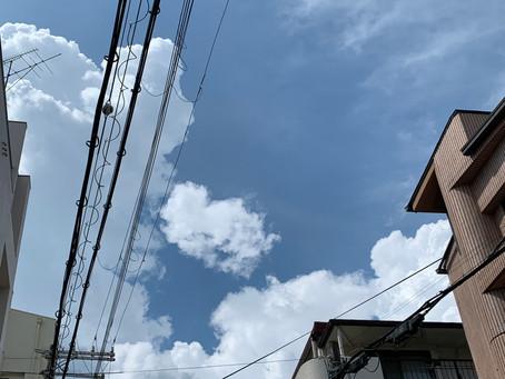 7/15 木 曇り→晴れ→雨