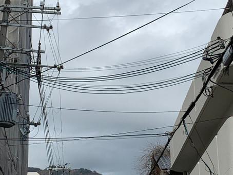 11/22 日 曇りから雨