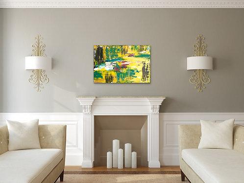 """Monet's Pond"""
