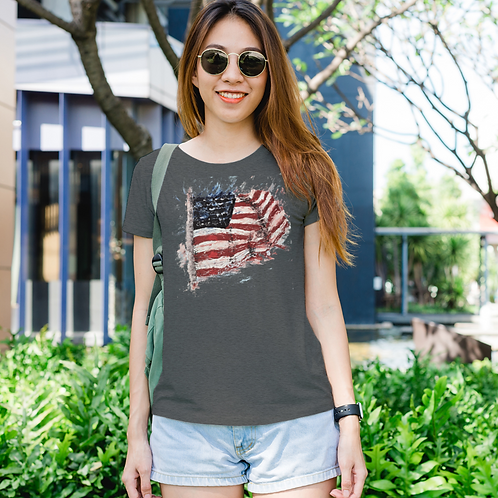 """Waving High"" Women's T-shirt"