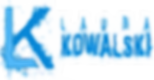 Laura Kowalski LK logo and name tranpare
