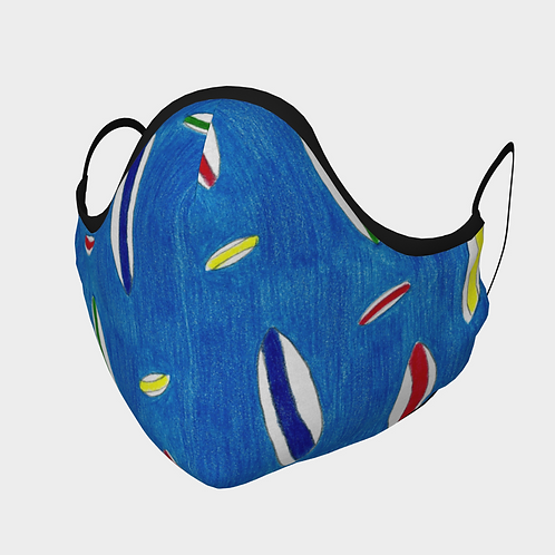 Silly Surfboards Face Mask