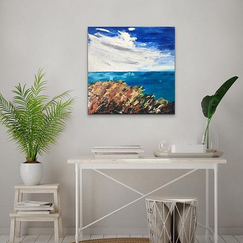 """Grassy Shoreline"""