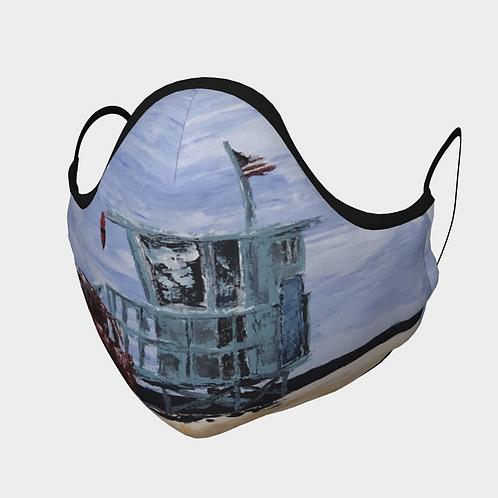 Lifeguard Tower Face Mask