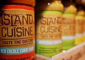 Portfolio packaging shot for Island Cuisine