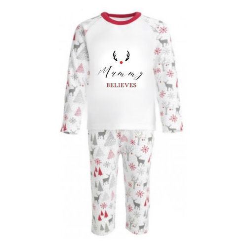 "Women's Christmas ""Believes"" Pj's"