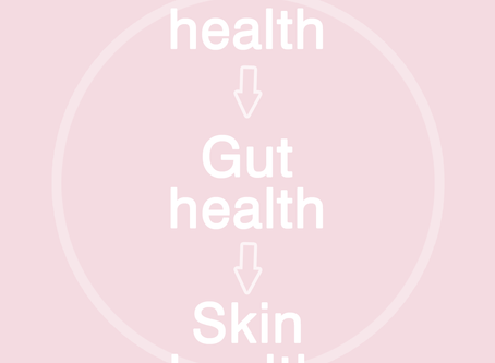 How the mental - gut relationship effects your skin