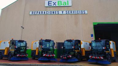 Barredoras frente a EXBAL