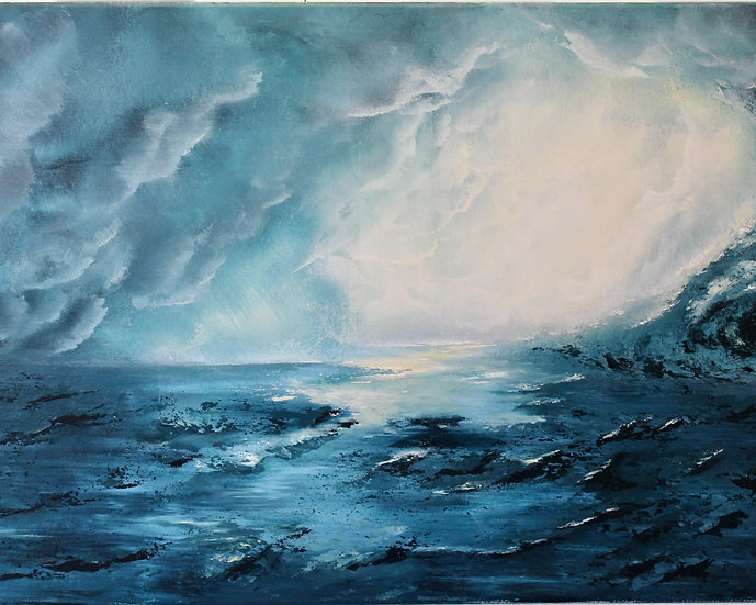 """""""The Calm Within the Storm"""" matted 8""""x10"""" Fine Art Print"""