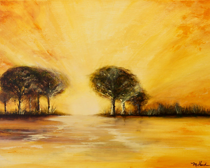 """""""Here Comes the Sun"""" matted 8""""x10"""" Fine Art Print"""