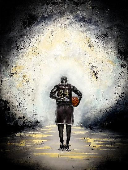 """Kobe"" 11""x14"" Canvas Print"