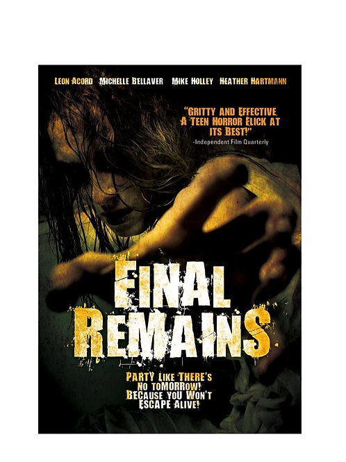 Final Remains (aka Mortuary) on DVD