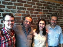 With Sergio and Odair Assad