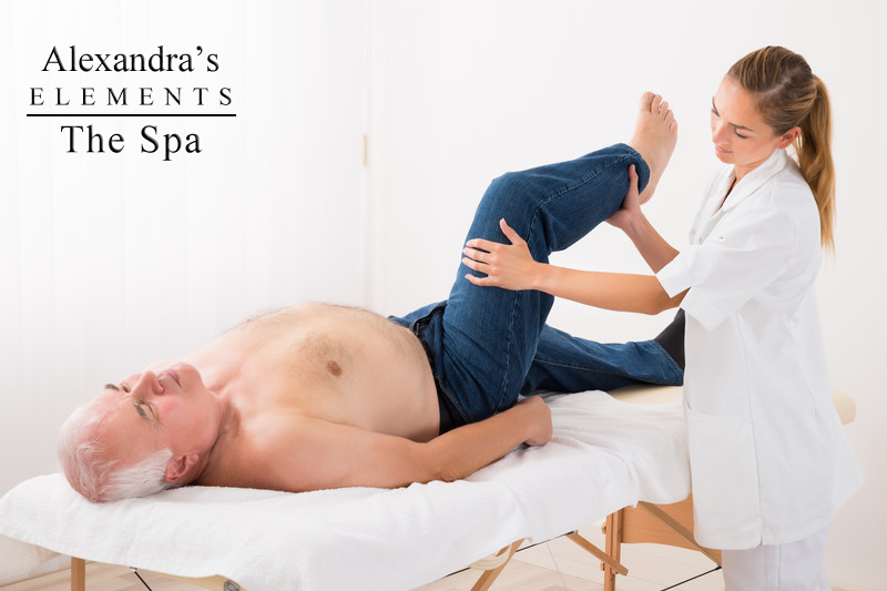 Therapeutic Stretches (Sciatica) at Alexandra's Elements Spa in Concord, Ontario
