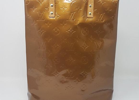 Louis Vuitton borsa rettangolare oro vernice