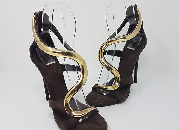 Zanotti sandalo venere marrone