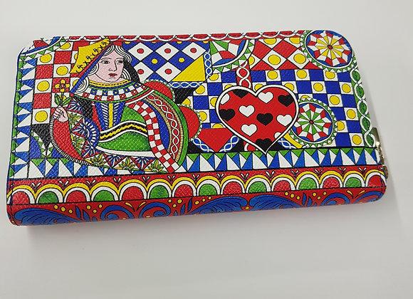 Dolce & Gabbana Portafoglio Regina di Cuori