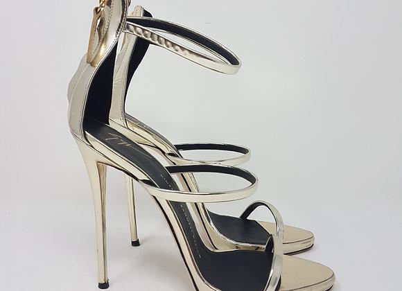 Zanotti sandalo harmony argento