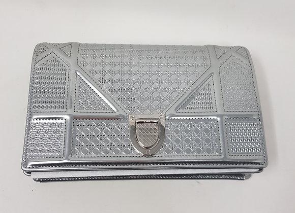 Dior Clutch Silver