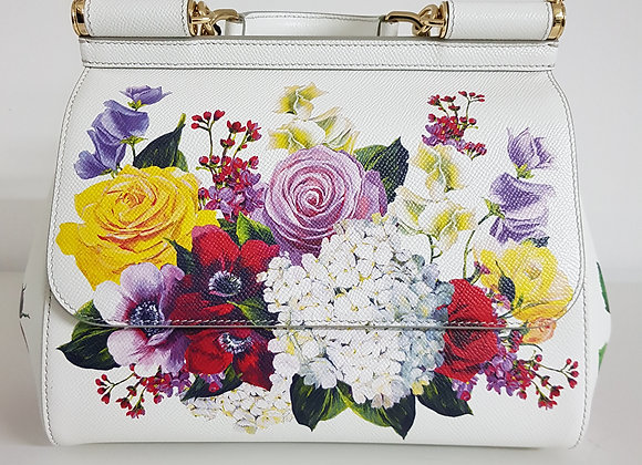 Dolce & Gabbana Sicily Media Bianca Fantasia Fiori