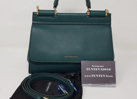 Dolce & Gabbana Sicily Nuova Verde Pelle