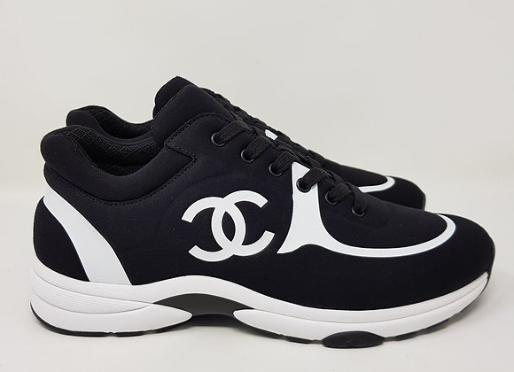 Chanel Sneakers nere/bianche