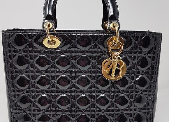 Dior Lady Large Patent