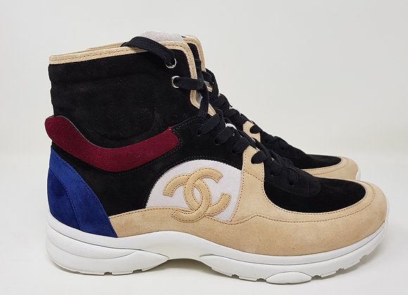Chanel Sneakers Camoscio