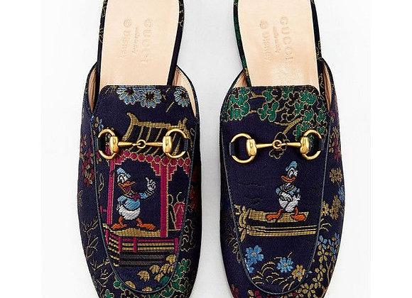 Gucci_Princetown_Donald_Duck _Jacquard Slipper Nr. 36,5