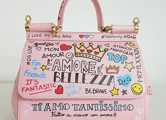 Dolce & Gabbana Sicily Mini Rosa