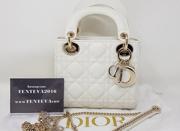 Dior Lady Mini Bianca