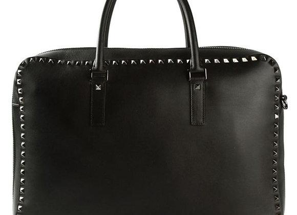Valentino Iconic Rockstud Briefcase Uomo