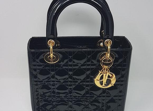 Dior Lady Dior Media Nera Vernice