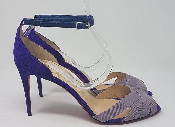 Christian Louboutin sandalo viola