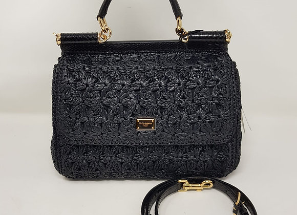 Dolce & Gabbana  Sicily classic nera rafia