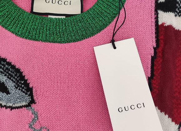 Gucci Maglione Donna Lana Taglia L