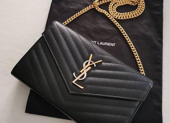 Saint Laurent_Borsa Limited Wallet Nera