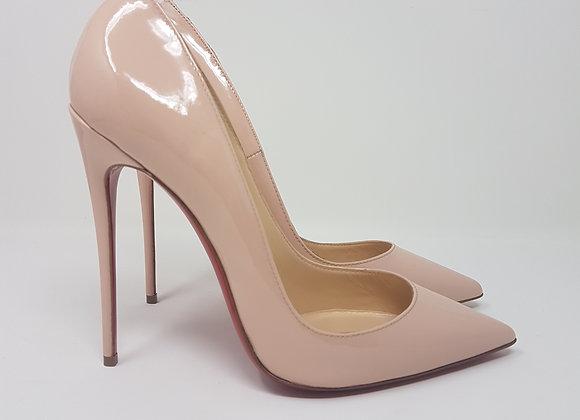 So Kate patent light pink