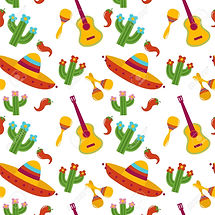 98698212-mexican-pattern-with-sombrero-g