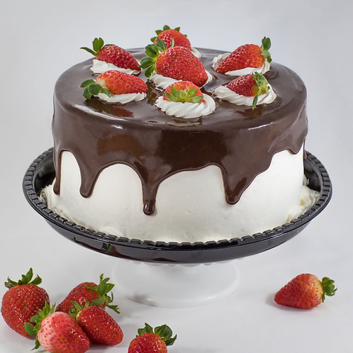 Torta Morango com Chocolates