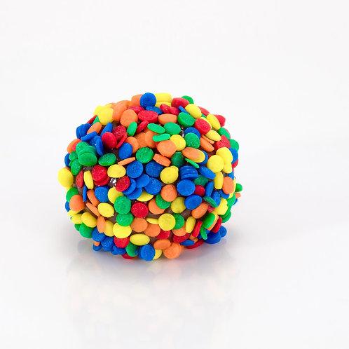 Brigadeiro com Confeitos Coloridos