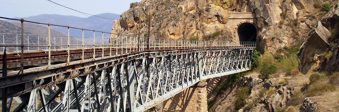 Puente de la vía férrea