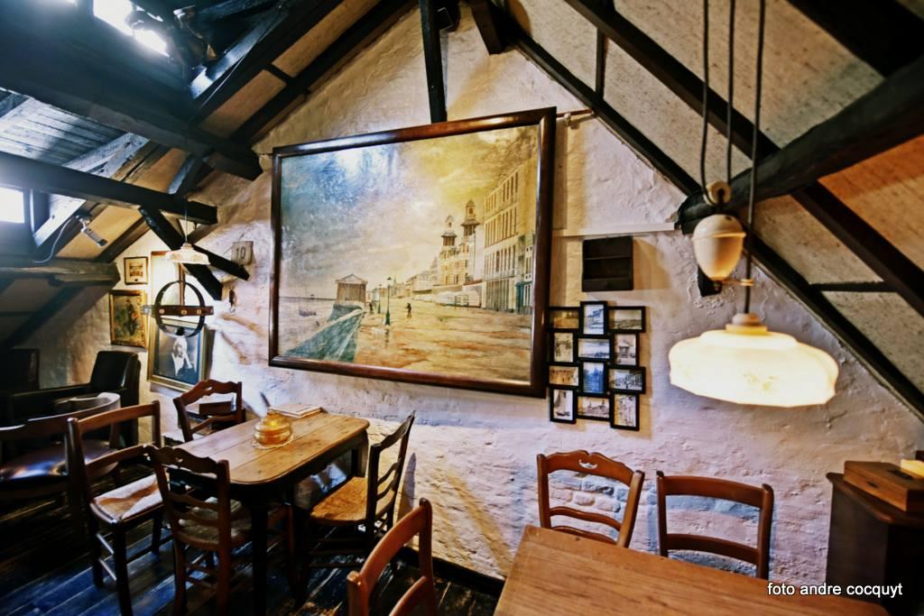 Huisje van Majutte zolder schilderij