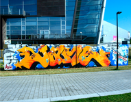 Grafitti med Jameone