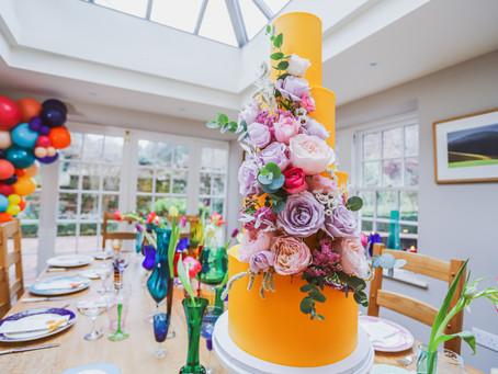 A Colourful Rock n Roll Wedding