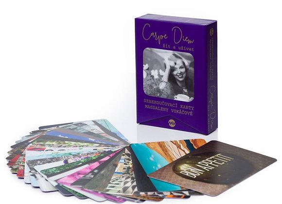 Sebekoučovací karty Carpe Diem