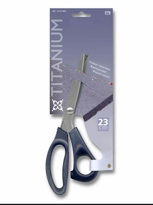 ciseaux cranteur - 23cm