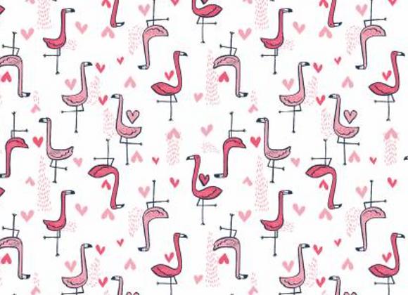 Coton - Love Flamingo - 16€/m