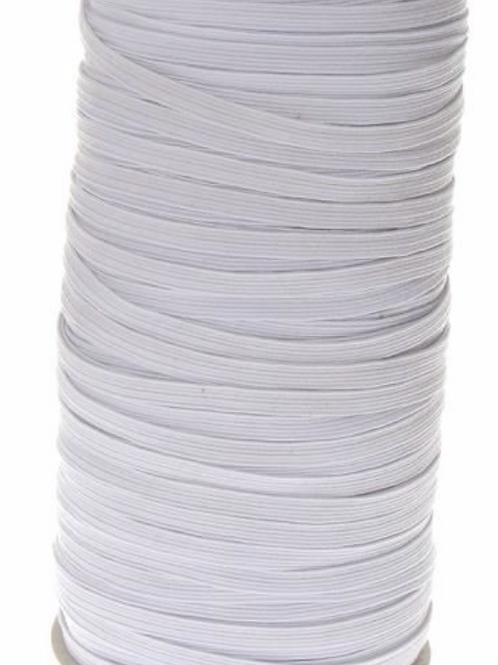 Elastique blanc - 7mm - 0,6€/m
